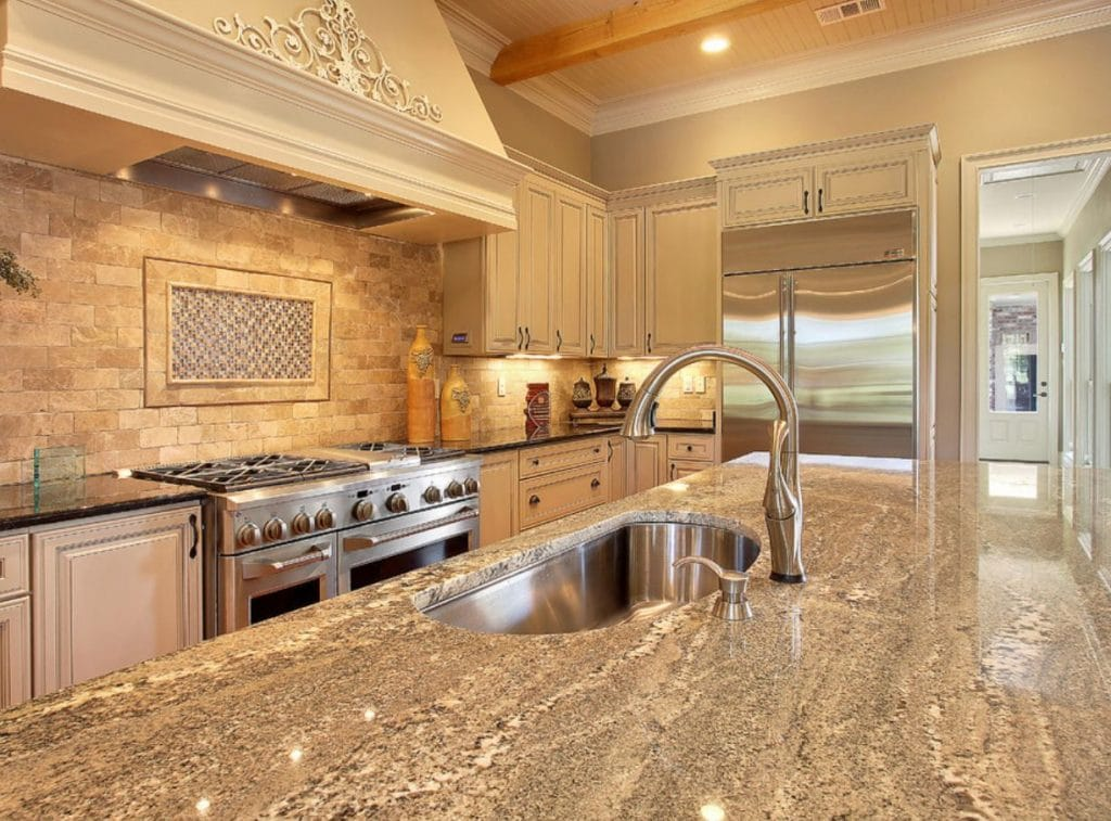 New Orleans granite countertop